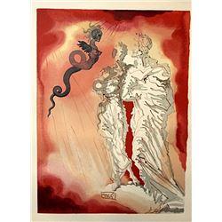 Dali - Hell Canto 21 - The Divine Comedy