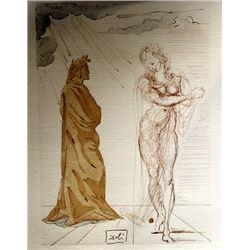 Dali - Hell Canto 2 - The Divine Comedy