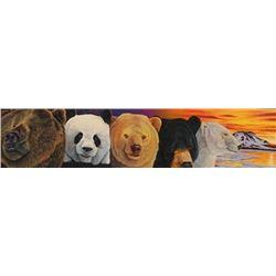 """Assorted Bears"" By Graene Stenemon"""