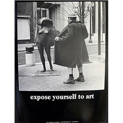 """Fine Art Print """"Expose yourself to Art"""" by Michael Beard"""