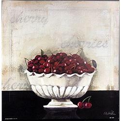"""Fine Art Print """"On Dessert de Cerises"""" by Celeste Peters"""