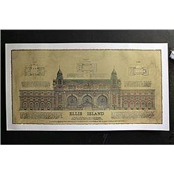 "Fine Art Print ""Ellis Island"" by Roger Vilar"