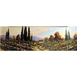 """Fine Art Print """"Autumn Vineyard #2"""" by Art Franckowiak"""