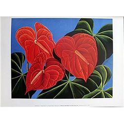 "Fine Art Print ""Jungle Heart"" by Sharon Mack"