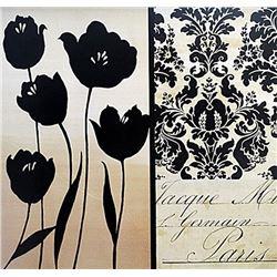 """Fine Art Print """"Noir Et Crème I"""""""