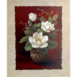 "Fine Art Print ""More Magnolias II"" by Vivian Flasch"