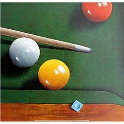 "Fine Art Print ""Billards"" by Bill Romero"