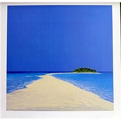 "Fine Art Print ""Island in the Sun II"" by Werner Erick"