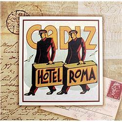 "Fine Art Print ""Hotel Roma"" by Tina Higgins"