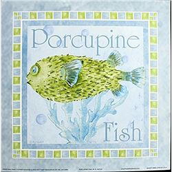"Fine Art Print ""Porcupine Fish"" by Kathey Hatch"