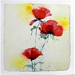 """Fine Art Print """"Papaveri II"""" by Andrea Fontana"""