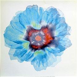 "Fine Art Print ""Fleur Bleue"" by Robin"
