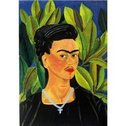 Signed Frida Kahlo