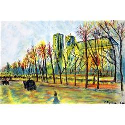 Signed Camille Pissaro