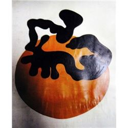 Jean Hans Arp Oil on Paper