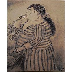 Fernando Botero - Señora Maria