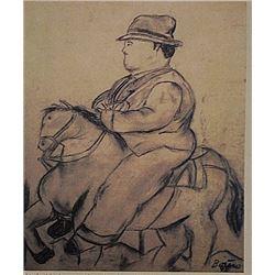 Fernando Botero -El Jinete