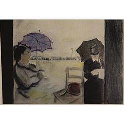 Eliane with Umbrella