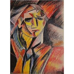 Georges Braque - Portrait of Giulliani