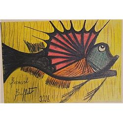 Bernard Buffet - The Fish