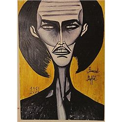 Bernard Buffet - Self Portrait