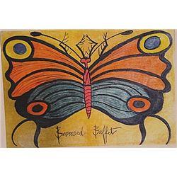 Bernard Buffet - Butterfly II