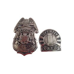 Spider-Man 3 OSCORP Security Badge Movie Props