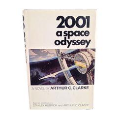 2001 A Space Odyssey Novel, Arthur C. Clark Signed