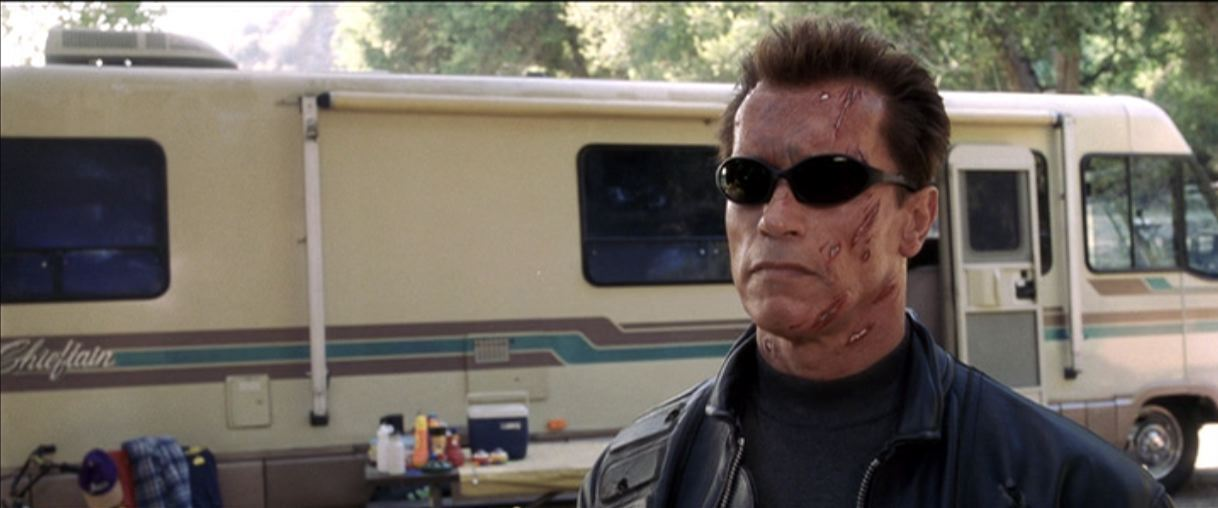 c37b91c4a7 ... Image 2   Terminator 3  Rise of the Machines (2003) Arnold Schwarzenegger  Sunglasses ...