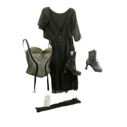 "Nine (2009) Saraghina (Stacy ""Fergie"" Ferguson) Movie Costumes"
