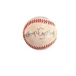 Whoopi Goldberg Signed Baseball