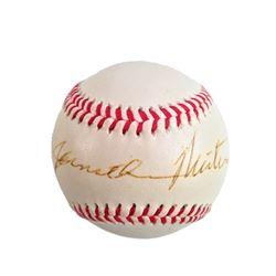 Jonathan Winters Signed Baseball
