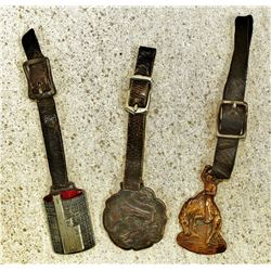 Group of Watch Fobs