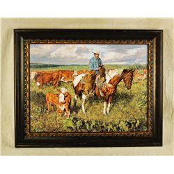 Schmehl Western Painting