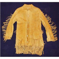 Fringed Buckskin Frontier Shirt