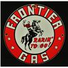 Frontier Gas Sign