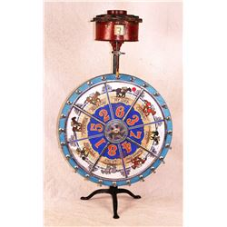 Race Horse Gambling Wheel
