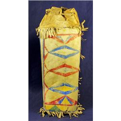 Sioux Parfleche Cylinder