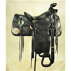 Hamley Silver Mounted Saddle