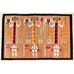 Yei Navajo Rug
