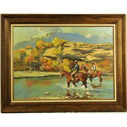 Harold Hopkinson Oil Painting