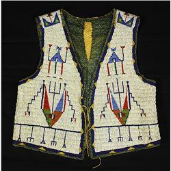 1870's- 1880's Sioux Mans Vest