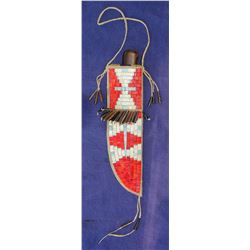 Sioux Quilled Knife Sheath