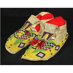 Sioux Split Tongue Moccasins