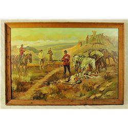 Western Oil Painting