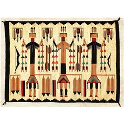 Stylish Yei Navajo Weaving