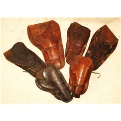 Group of Tooled Holsters