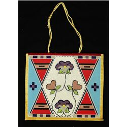 Blackfoot Beaded Panel Bag