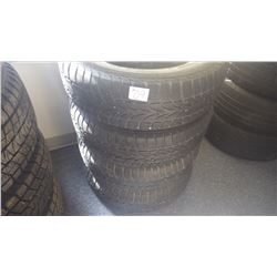 Set of four Nokian tires, 195/65 R15