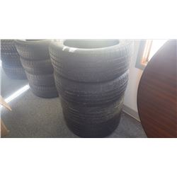 Set of four Hankook Tires, P225/50 R17